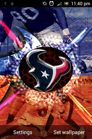 Houston Texans Live Wallpaper - Android Informer. The best football team wallpaper is available ...