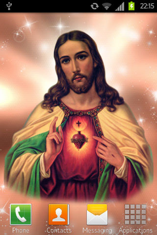Jesus Live Wallpaper Free - Android Informer. **** NO ADS **** ★★★★★ If you like this beautiful ...