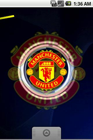 Manchester United Live Wallpaper - Android Informer. Manchester United 3D Live Wallpaper: Great ...
