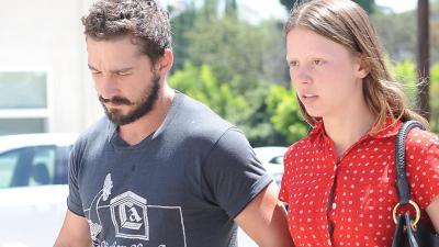 Shia LaBeouf und Freundin Mia Goth: Mega-Streit auf offener Straße