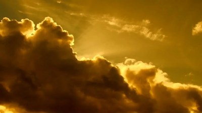 Close Up Of Bright Shining Sun Rising Above Clouds. Stock Footage Video 8468884   Shutterstock