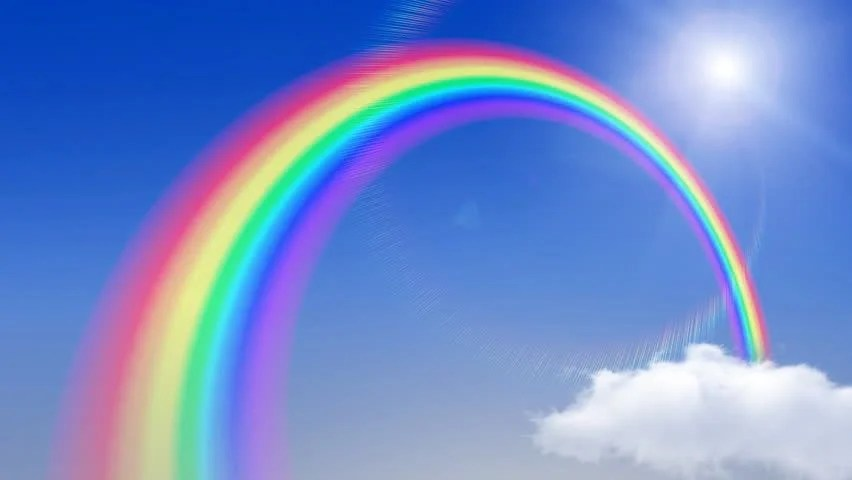 rainbow in the sky  Stock Video  HD  Royalty Free      687001     Visually similar footage