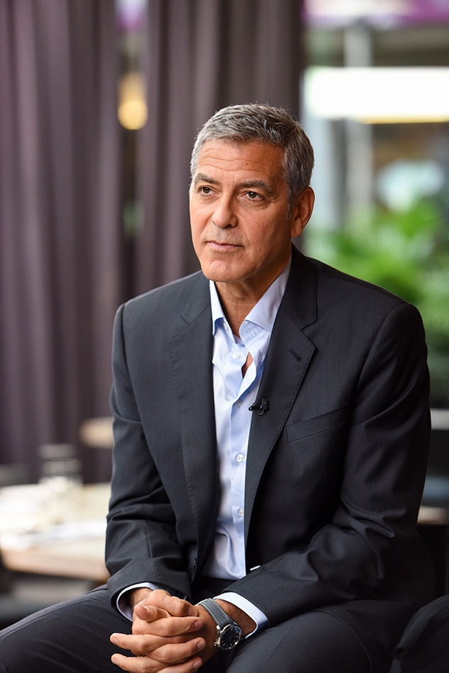 George Clooney Hospitalized After Scooter Crash in Italy   E  News 2017 Toronto Film Festival  George Clooney