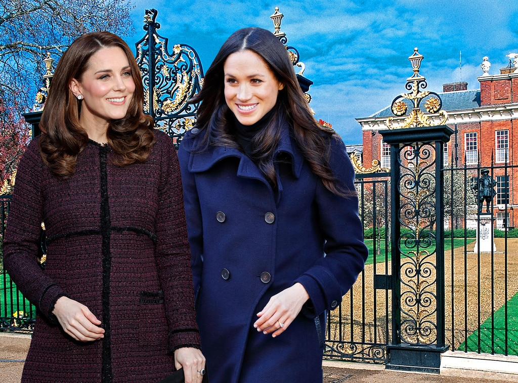 Countdown to the Royal Wedding  Inside Meghan Markle and Kate     Kate Middleton  Meghan Markle  Special Bond