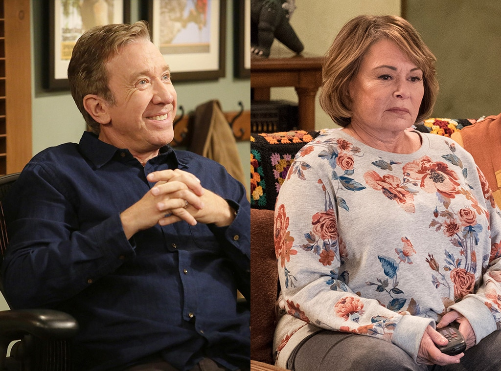 Tim Allen Defends Roseanne Barr in Aftermath of Offensive Tweets     Tim Allen  Last Man Standing  Roseanne