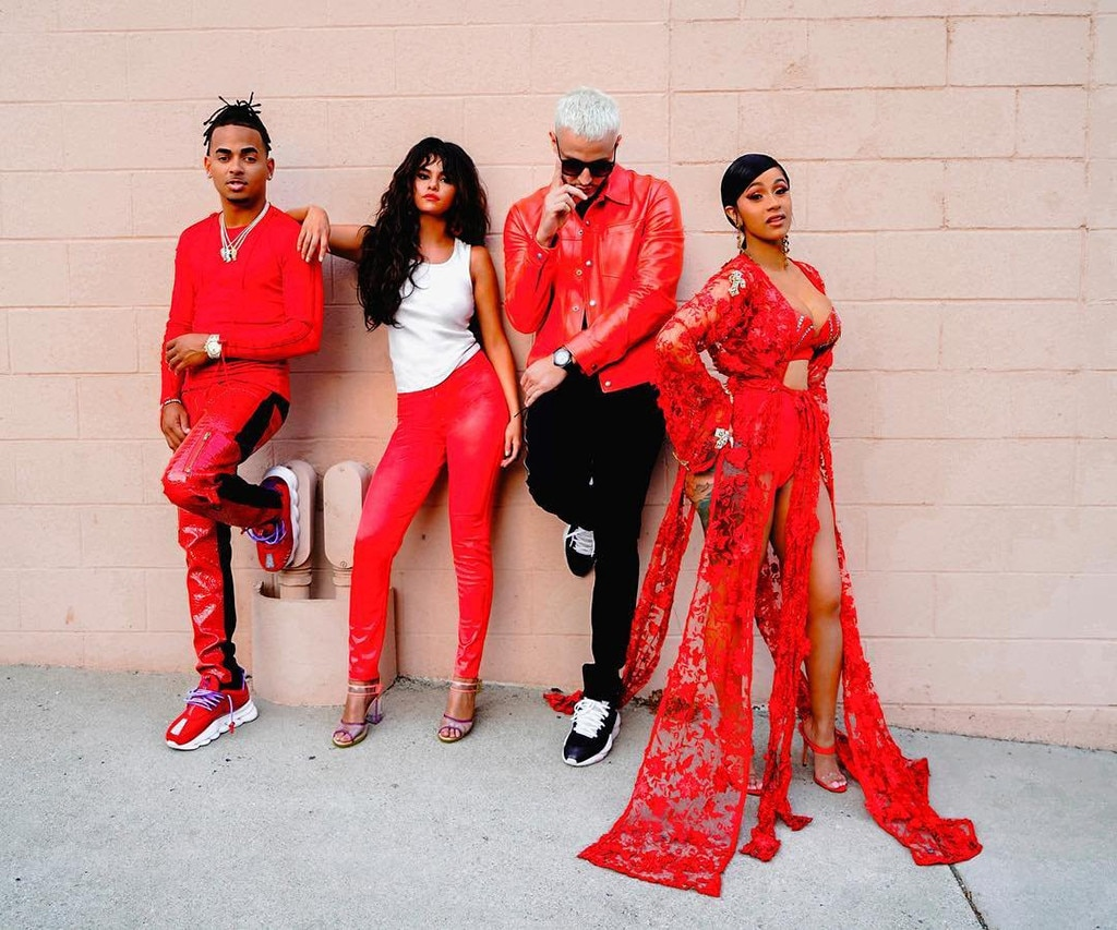 Cardi B, Selena Gomez and Ozuna Team Up for DJ Snake's Taki Taki | E! News