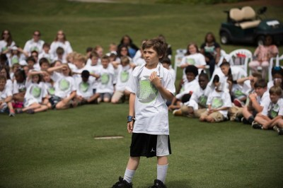 Pro golfers teach golf, life lessons at Junior Clinic ...