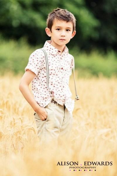 Lifestyle portraits of children Nottingham UK