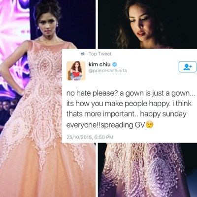 All About Juan » Kim Chiu Speaks up Regarding Gown Issue with Maine Mendoza : All About Juan