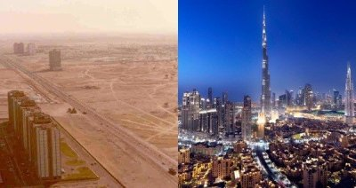 Incredible Dubai Before And After Photos