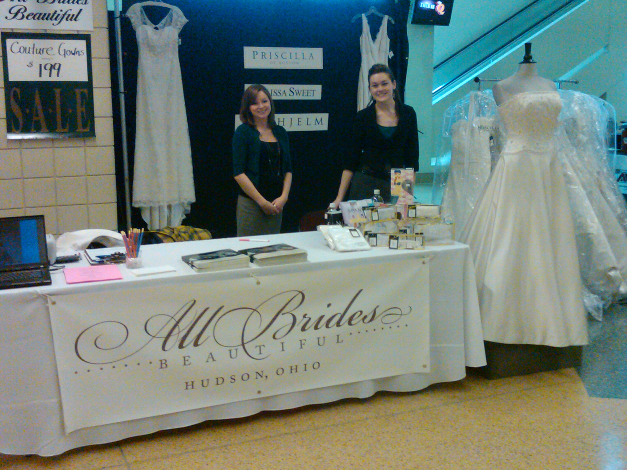 bridal show wedding on ice quicken loans arena 2 27 10 wedding loans All Brides Beautiful New Logo by Jessi Tubero