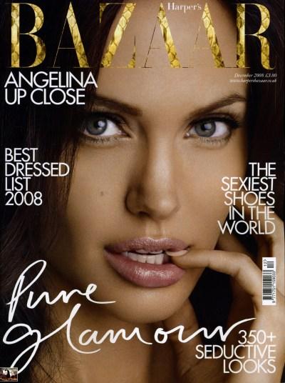 Angelina Jolie – Harper's Bazaar (December 2008) | All Celebrity Pics