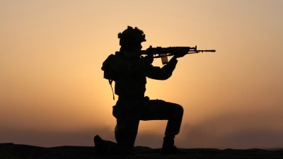 Indian Army Wallpaper with Soldier in Silhouette - HD Wallpapers | Wallpapers Download | High ...