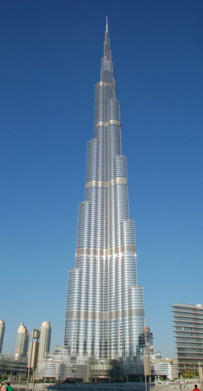 Everything in Dubai is over the top, especially the Burj ...