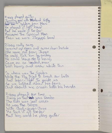 Ziggy Lyrics