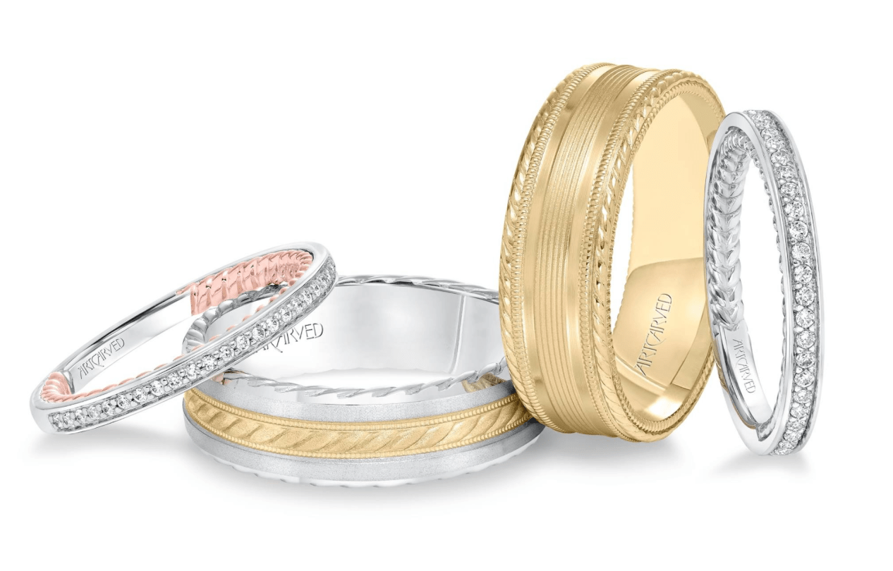 wedding bands for her and him wedding band for her You re engaged and its time to look for wedding bands The tradition of wearing a wedding band dates back about 4 years to ancient Egypt