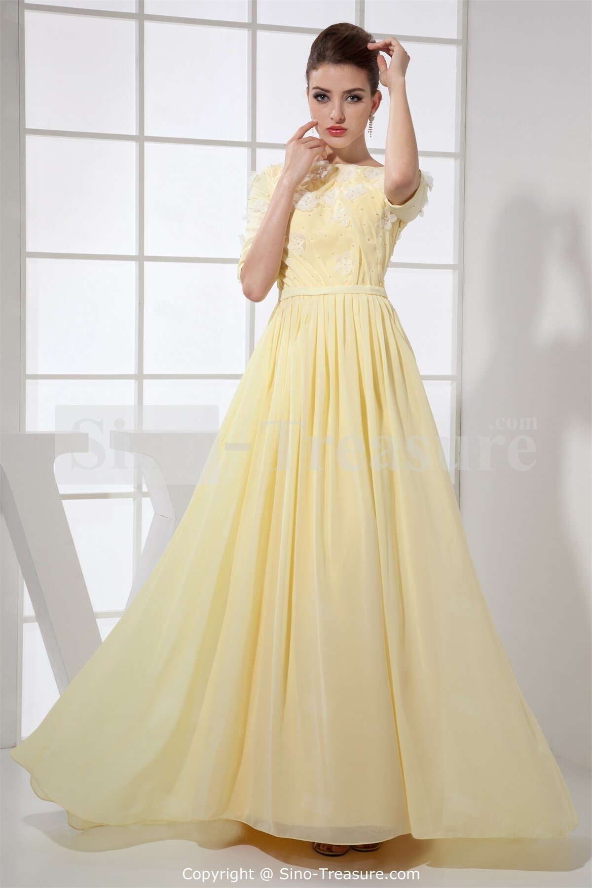 light yellow wedding dresses yellow wedding dress Light yellow wedding dresses photo 6