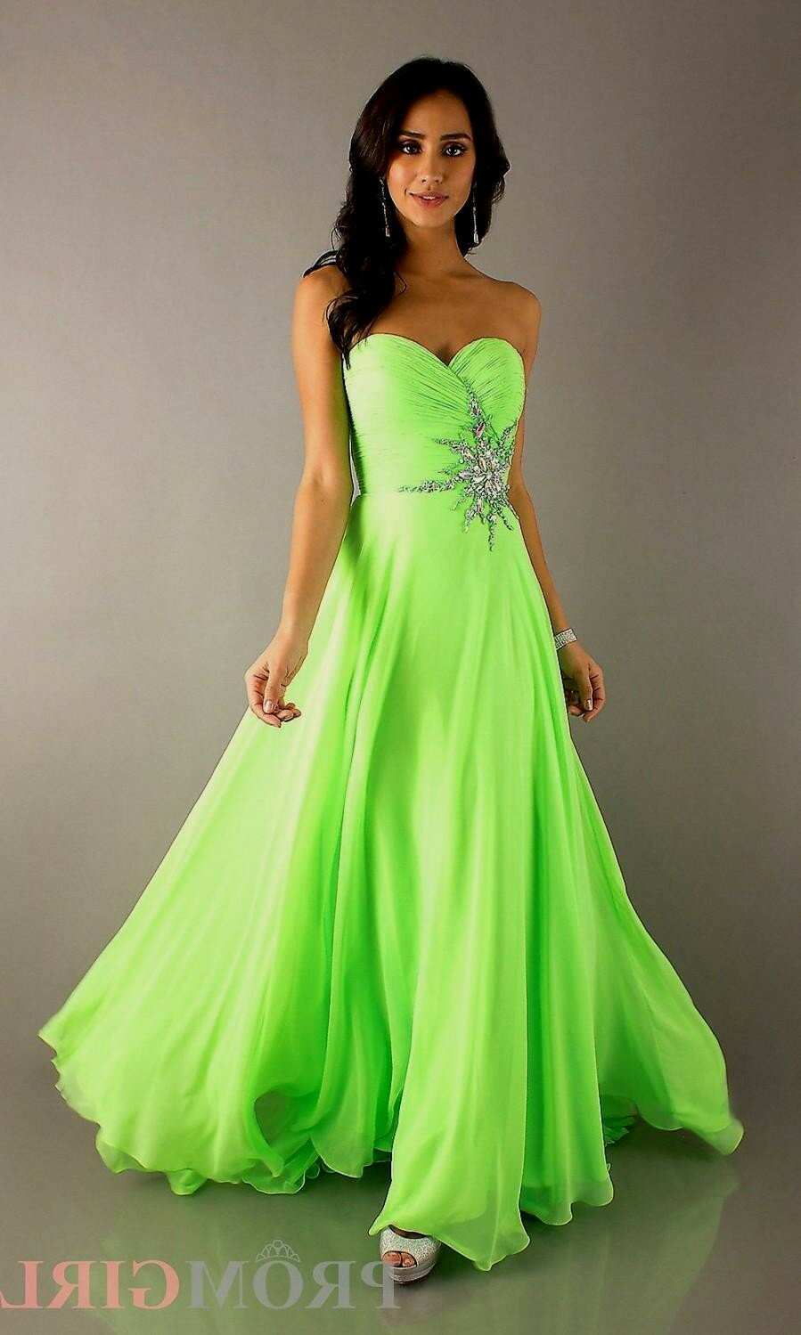 white and lime green wedding dresses green wedding dresses White and lime green wedding dresses photo 5