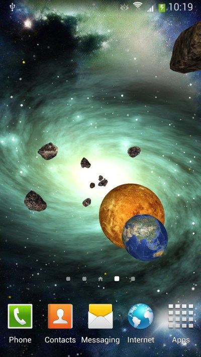 Space 3D Live Wallpaper for Android | Amax Software