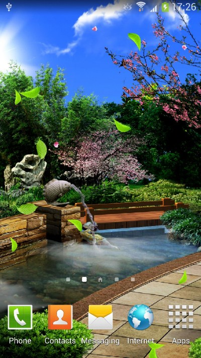 Eastern Garden Android Live Wallpaper | Amax Software