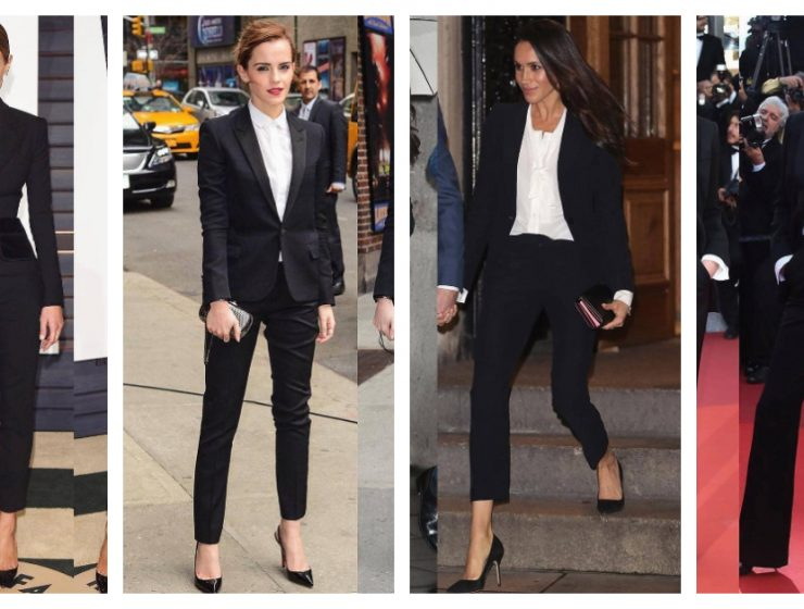 10 Ways To Look Fabulous In Black Suit