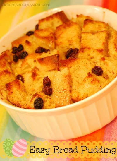 Easy Bread Pudding Recipe