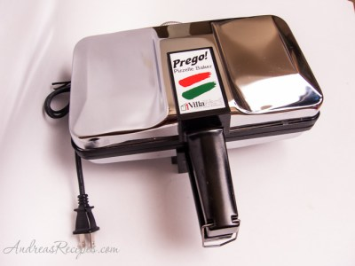 VillaWare Prego! Pizzelle Baker – Andrea Meyers