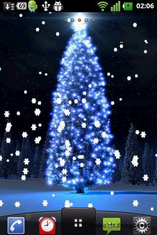 7 Best Christmas Live Wallpapers for Android - Lighten up your Screens - Android Advices