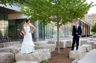 Cherry and Tristan - UW Madison Gardens Wedding - Madison ...