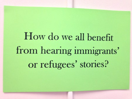 Refugee Reading Comprehension