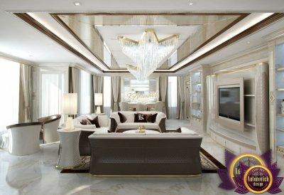 Living room design in Nigeria