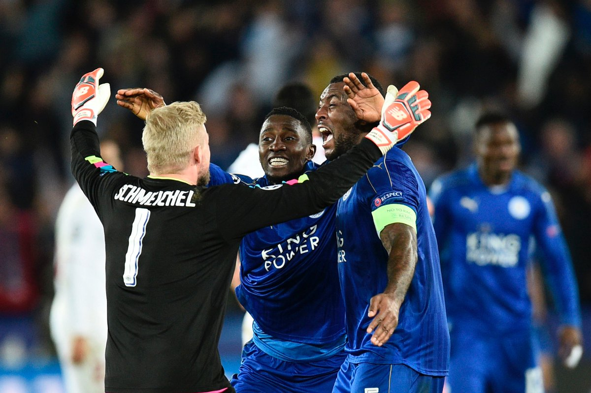 (((VIDEO))) UCL: Leicester 2-0 Sevilla