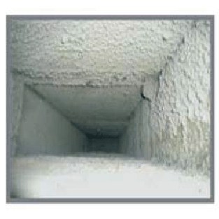 Clean air conditioner air duct
