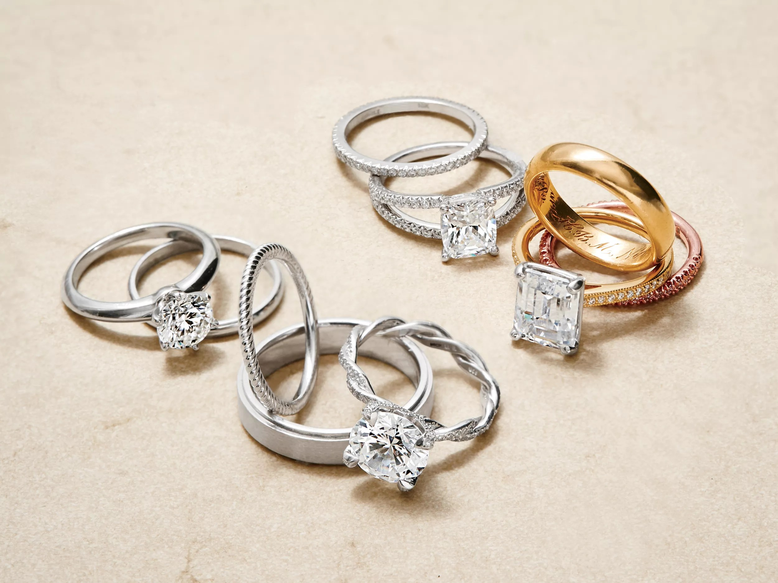 rules for choosing your wedding bands wedding ring and band