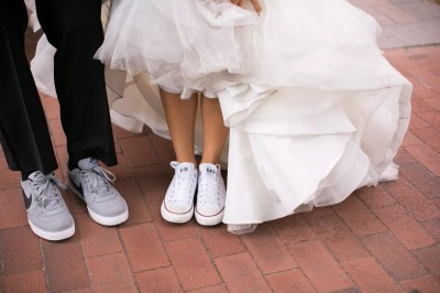 Nike and Converse Wedding Shoes