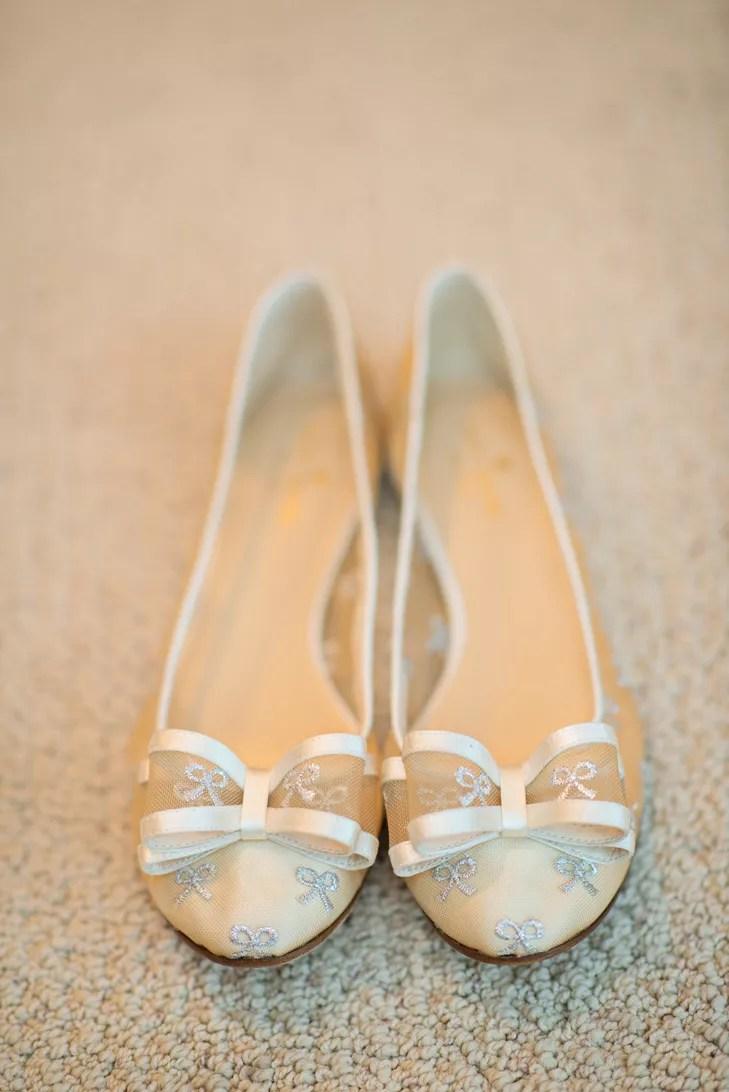 ivory and silver kate spade bridal flats photo kate spade wedding shoes