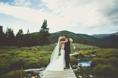 A Rustic Mountain Wedding at a Private Residence in Tincup ...