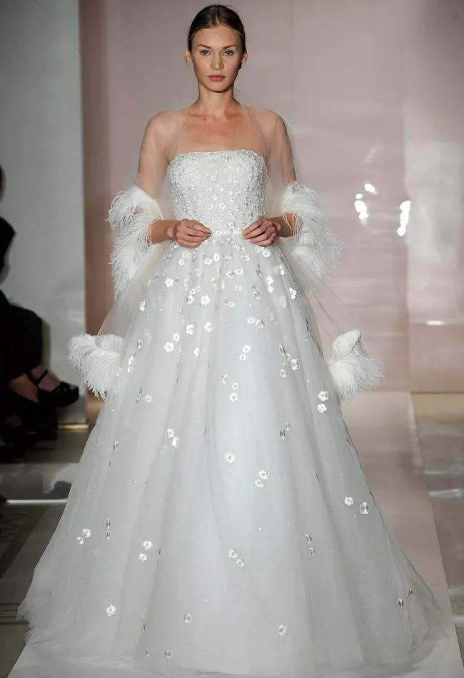 Reem Acra Fall 2014 Wedding Dresses