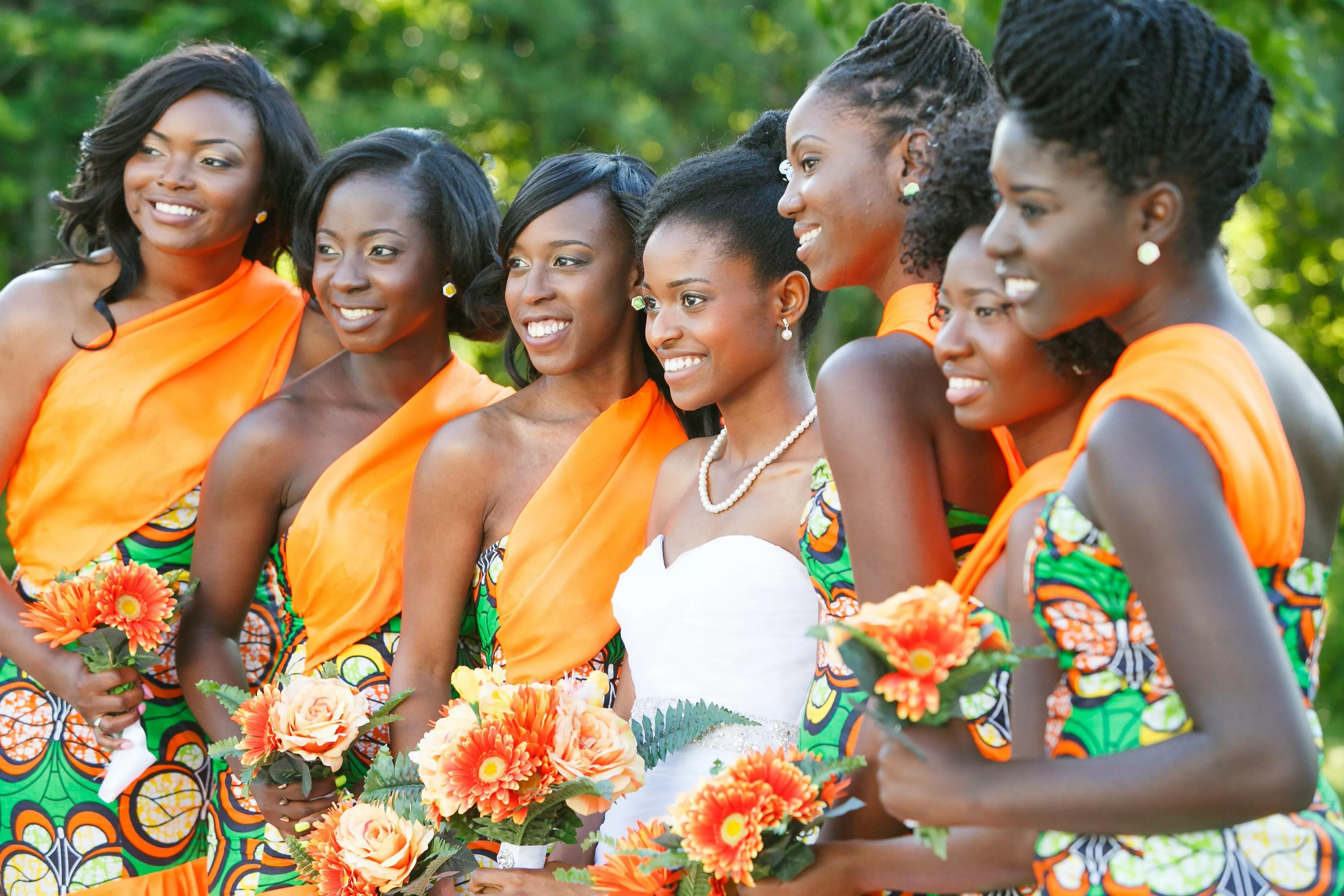 african print bridesmaid dresses photo african wedding dress
