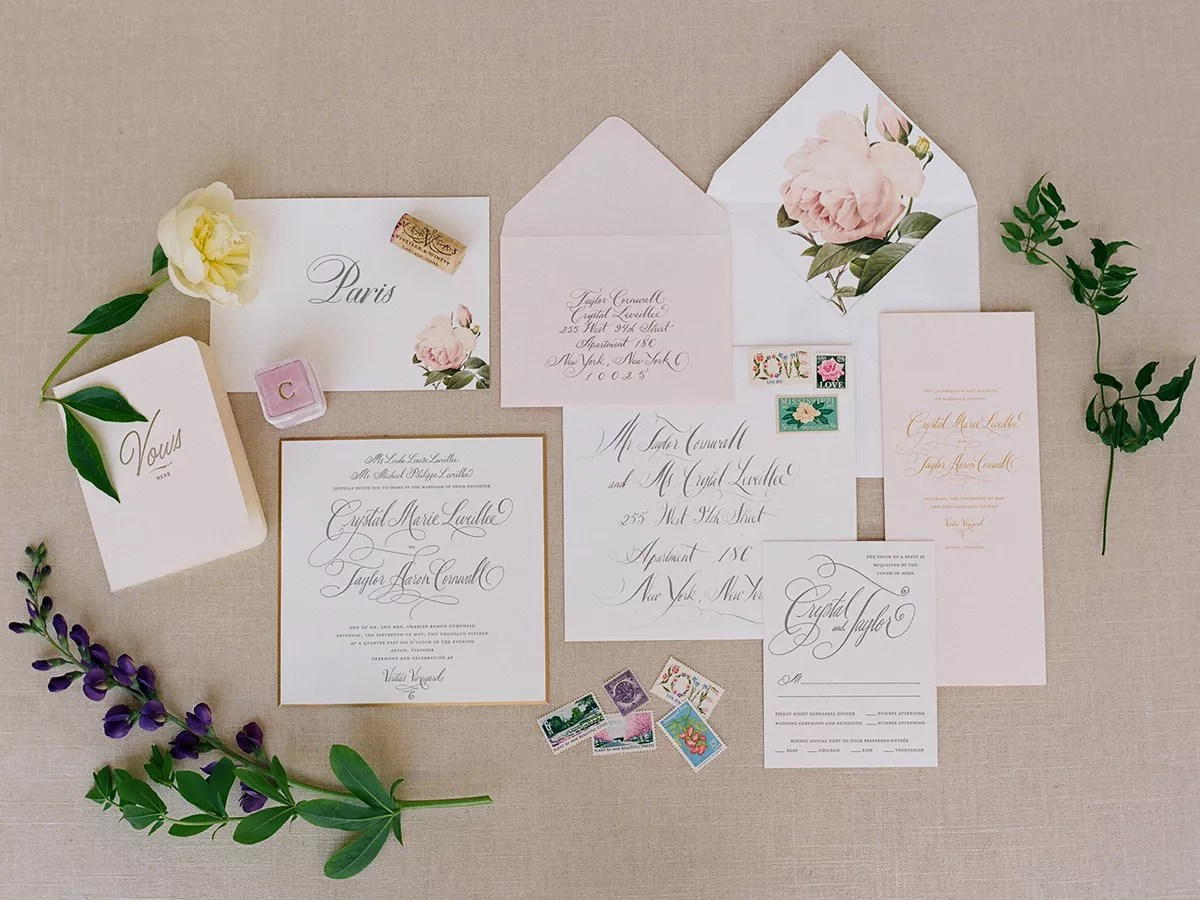 a program for your program wedding programs Wedding invitation suite with intrique calligraphy