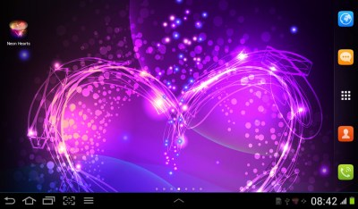 Neon Hearts Live Wallpaper Free Android Live Wallpaper download - Appraw