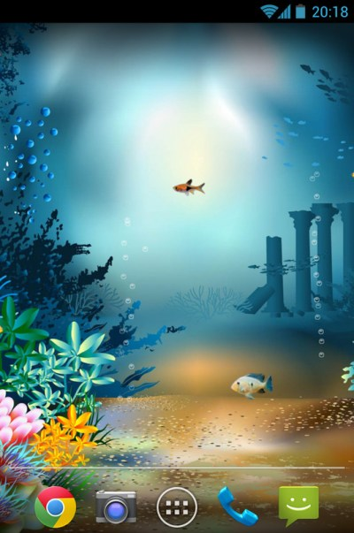 Underwater World Livewallpaper Free Android Live Wallpaper download - Appraw