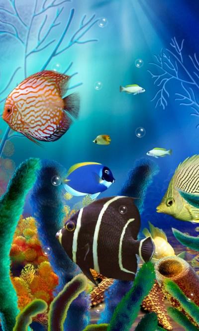 Aquarium Live Wallpaper (free) Free Android Live Wallpaper download - Appraw