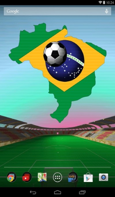 Brazil Football Live Wallpaper Free Android Live Wallpaper download - Appraw