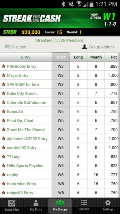 ESPN Streak For The Cash APK Free Sports Android Game download - Appraw