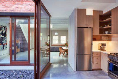 2016 Best of Design in Residential Interior: Clinton Hill Courtyard House - Archpaper.com