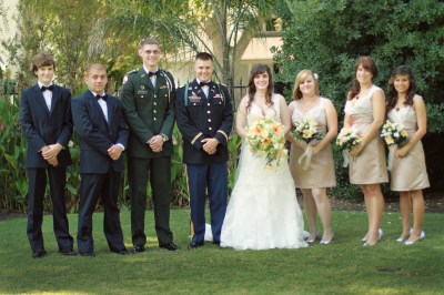 military wedding   One Army. Two Hearts.