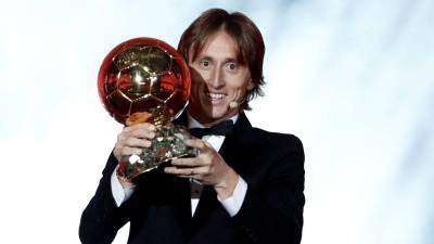 Luka Modric wins the 2018 Ballon d'Or award - AS.com