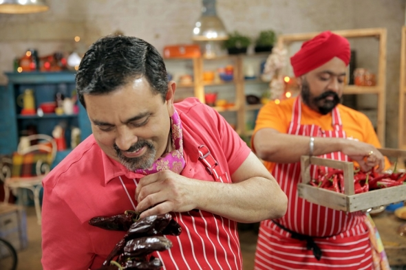 TV spice chefs have mixed outing
