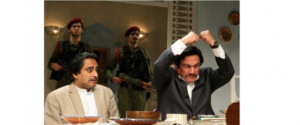 'DINNER WITH SADDAM' review: Comic dig at Iraq folly…